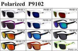 Wholesale Sport Glasses For Bike - Newest Designer 9102 Polarized Sunglasses Women Mens Unisex Sport Cycling Sunglasses for Bike Driving Golf Fashion wear Glasses GSA002