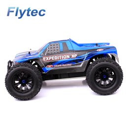 Wholesale Truck Battery Wholesalers - High Quality sst racing car 2.4G 4WD 1   10 scale 1999 Brushless off road RC Monster Truck RTR