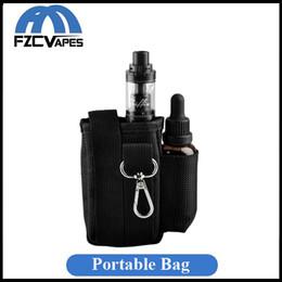 Wholesale Evic Casing - Portable E Cigarette Bag Carrying Case for Kanger Topbox Kit Joyetech Evic VTC Mini Vtwo Kit Innokin Coolfire IV Kit