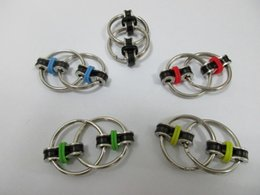 Wholesale Hours Ring - Fidget Spinner Key ring metal gyro toy fidget spinner toy Professional EDC stress release toy Hand Spinner shipping within 24 hours