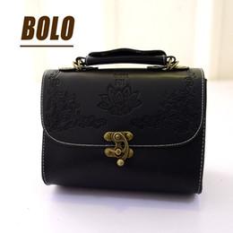 Wholesale Oblique Satchel Bags - Wholesale- New women's handbags ladies leather small messenger bag with shoulder oblique satchel bag