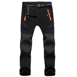 Wholesale Men Waterproof Pant - Wholesale- Free Shipping New Thickening Speed Dry Pants Men and Women Snowboard Outdoor Leisure Sport Breath Snow Pants