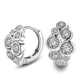 Wholesale Zircon Crystals For Sale - Mixed Styles Zircon Earring YJY Women Fashion Jewelry Ear Stud Hot Sale Crystal Stud Earrings Wedding Eardrop Free Shipping for Girls