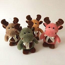 Wholesale Cute Deer Stuffed Animals - 2017 NEW Simulation Cute Deer Stuffed Animal Soft Plush Creative toys for baby gift Free Shipping