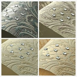 Wholesale Household Mould - European Luxury Diamond Crystal 3D Wallpaper 3D Flocking Non-woven Wallpaper Roll,Living Room TV Wall Paper Roll Floral