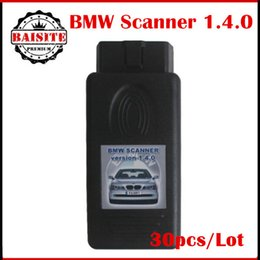 Wholesale Diagnose Obd - 30pcs Lot Auto bmw Scanner 1.4.0 For BMW OBD Diagnose 1.4.0 Never Locking Determinate for chassis model engine gearbox complete