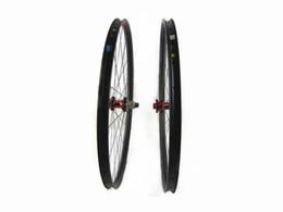 Wholesale Carbon Bike Wheels Mtb - carbon MTB wheels 27.5er Mountain bike wheels MTB bike wheel UD 3K 650B 27 30 35width bicycle Mountain bike wheels