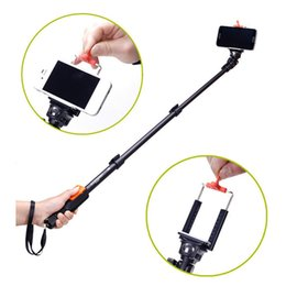 Wholesale Function Zoom - YUNTENG 1288 Mobile Phone Wireless Bluetooth Selfie Stick IOS Android Systerm Handheld Selfie Monopod With ZOOM Function Shutter Gopro