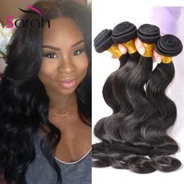 Wholesale T 28 - Mink Body Wave 4 Bundles Extensions Raw Indian Maylaysian Peruvian Brazilian Virgin Hair Weave Bundles Wet And Wavy Human Hair Remy Hair N&T