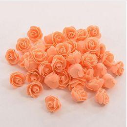 fiori artificiali di nozze usati Sconti 10 colori all'ingrosso 50 pz / borsa pe schiuma rosa fatti a mano fai da te decorazione della casa di cerimonia nuziale multiuso testa di fiore artificiale g599