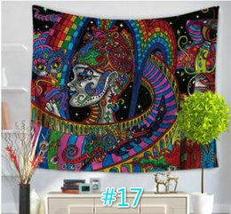 Wholesale Print Blankets - 16 Styles India Ethnic Bohemian Elephant Household Tapestries Hanging Wall Act The Role Ofing Beach Towel Beach Blanket Tapestry Carpet