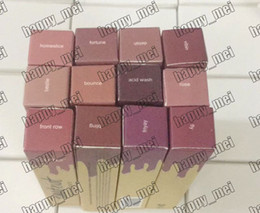 Wholesale glossy lip gloss - Factory Direct DHL Free Shipping New Makeup Lips Glossy Lip Paint Lip Gloss!12 Different Colors