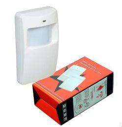 Wholesale Pir Sensor 433mhz - Wholesale- Intelligent Wireless PIR Pasive InfraidMotion Detector Sensor 433MHz PIR-100B