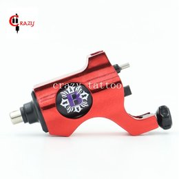 Wholesale Tattoo Shader Machine For Sale - Wholesale-2016 Hot Sales New Rotary Tattoo Machine Bishop Style Professional Red Color Tattoo Machine For Liner & Shader Free Shipping