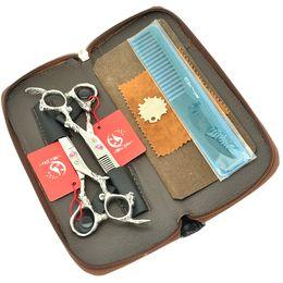 Barberos profesionales online-6.0Inch Meisha Professional Barber Scissors Set Hair Cutting + Thinning Shears JP440C Hot Hair Scissors con bolsa de peluquería, HA0328
