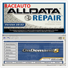 Wholesale Repair Software - Hot sale Alldata 10.53 575GB + 2014 Mitchell Ondemand5 122gb total 2in1 with a 750G hard disk mitchell