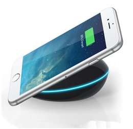 Wholesale Free Phone Chargers - Quick Mobile Charger QI Wireless Charger Mobile Phone Holder New Mobile Phone Charger free shipping crazy shop
