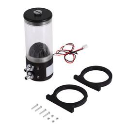 Enfriador de agua para pc online-500L / H 10 W DC 12 V Enfriamiento de agua CC Tanque 250ML F / Pc CPU CO2 refrigerado por agua Envío gratis