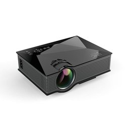 Wholesale 3d Home Theater System - Wholesale-Mini Phone Projector Full HD 1080P WIFI Portable Pico Projector Red And Blue 3D Effect 1200Lumens Proyector Home Theater System