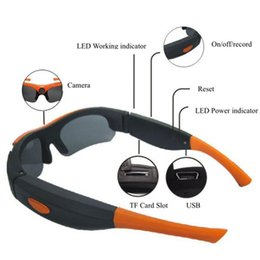 Wholesale Wholesale Dvr S - 2016 popular Hot DV Glasses Recorder 1080P 120 Degree wide angle Camera Sunglasses Sports DVR Digital Video Recorder Camcorder Camera S