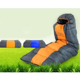 Wholesale Bag Thickness - Adult Sleeping Bag Spring Summer Envelope Hooded Waterproof Keep Warm Four Thickness Sleeping Bag Free Shipping
