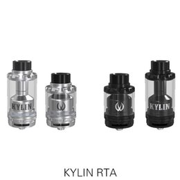Wholesale Dual Coil 6ml - Wholesale- stock Original Vandy Vape Kylin RTA Tank 2ML&6ML Support Single and Dual Coil E Cigarette Kylin RTA Atomizer