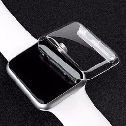 Wholesale S2 Hard Cover - clear hard watch case Ultra Thin(0.5) Full Body Case for Apple smart Watch S1 S2 38MM 42MM PC defender cover protector case