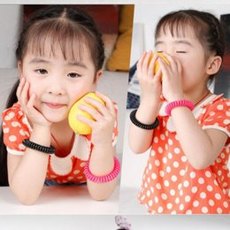 Wholesale Mosquito Repellent Bracelet Wrist - New Mosquito Repellent Bracelet Stretchable Elastic Coil Spiral Hand Wrist Band Telephone Ring Chain Anti-mosquito Bracelet
