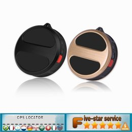 Wholesale CAR Mini GPS Tracker Kids GPS Locator T8S Spy Device Personal Child Tracking Waterproof IP65 Geo fence GPS LBS Double Positioning