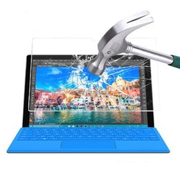 Wholesale Shatter Proof Protector - Explosion proof Tempered Glass film for MICROSOFT SURFACE PRO 4 12.3 SURFACE PRO 3 12 tablet Anti-shatter HD Clear screen protector