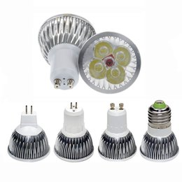 Wholesale Bulb B22 - High power CREE Led Lamp 9W 12W 15W Dimmable GU10 MR16 E27 E14 GU5.3 Led spot Light Spotlight led bulb downlight lighting