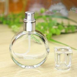 Wholesale travel size perfume atomizer - 20ml Glass Empty Perfume Bottles Atomizer Spray Refillable Bottle Spray Scent Case with Travel Size Portable+Funnel F20171472
