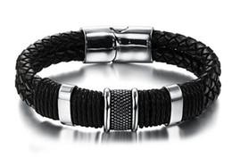 Canada Hot style chaud européen et le marché américain en gros mettant le bracelet en cuir de boucle magnétique Offre
