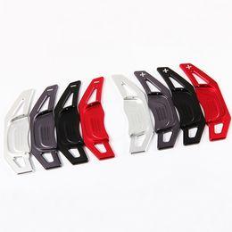 Wholesale Aluminum Paddles - Blade Style Reflectal Aluminum Shift Paddle Shifter Paddles Fit For VW Golf7 MK7