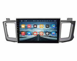"Wholesale Car Dvd Player For Toyota - Octa Core 2 din 10.1"" Android 6.0 Car Radio Video DVD GPS for Toyota RAV4 2012-2015 With 2GB RAM Bluetooth 32GB ROM Car DVD Player"