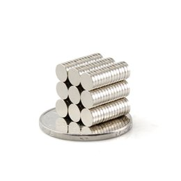 Wholesale Neodymium Fridge Magnets - Free shipping 300pcs 5x 1mm fridge art craft Magnet N50 Super Powerful Rare Earth NdFeB neodymium Magnets