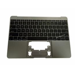 Yeni A1534 Macbook için ABD Klavye ile Topcase 12 '' MF855LL / Bir MF865LL / Bir 2015 2016 Yıl Uzay Gri nereden sd kart sürümleri tedarikçiler