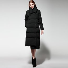 Wholesale Duck Collection - Autumn Winter Wadded Jackets Outwear Women Long Fashionable Coat Jacket Women's Warm Hight Quality Female New Winter Collection Hot