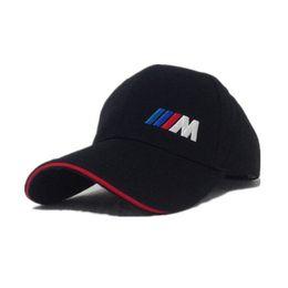 31c48865a6b Cotton M logo M Performance Car Embroidery Cap Car Logo Moto Gp Moto Racing  Baseball Cap Adjustable Casual Trucket Hat