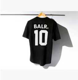 Wholesale Gym Lifting - 2017 sping suummer lift of a balr t-shirt tops balr men&women t-shirt Soccer football sportswear gym shirts BALR shirt