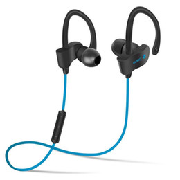 Wholesale S Headphones Blue - 56 s wholesale wireless bluetooth headset movement hanging ear headphones Bluetooth headset speed sell hot style of foreign trade