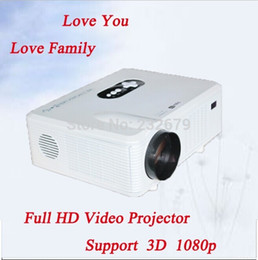 Wholesale Channel Business - Wholesale- Factory Directly Selling !!! 22 OSD Language 1280*800 Resolution 1080P Stereo Daul Channel Speaker 3000 Lumens Small Projector