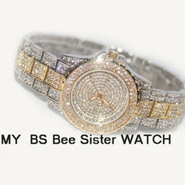 Wholesale Beautiful Ladies Watches - Watches Women Quartz Wrist Watches BS New High-end Fashionable Women's Watch Female Models Ladies Dress Beautiful Gift