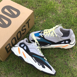 Wholesale Lace Fan Black - Wave Runner 700 Boost Shoes Arrived - Kanye West hit his fans with a surprise release - boost 700 Solid Grey and Triple White Black