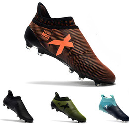 8623c13d5 Ace 17+ Purecontrol X Purechaos FG football Boots Low Tops outdoor soccer  cleats soccer shoes size 39-45
