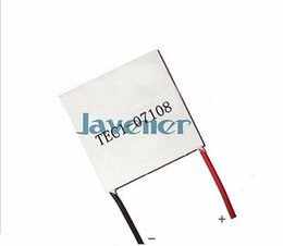 Wholesale Peltier Thermoelectric Modules - Wholesale- TEC1-07108 Heatsink Thermoelectric Cooler Peltier Cooling Plate 8.4V 8A 30x30mm Refrigeration Module