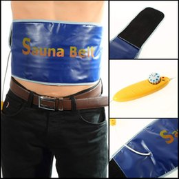 Wholesale Tummy Slimmer Belt - Wholesale- Heating Slimming Health Care Body Tummy Waist Massager Massage Sauna Exercise Belt For Weight Loss Hot