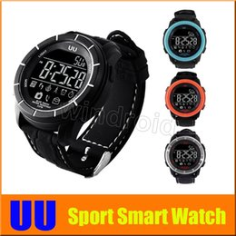 Wholesale Ups For Home Use - Sport Smart Watch UU UP XWATCH BlackLight For Outdoor Professional 5 ATM Waterproof Bluetooth Compatible with Android IOS Smart Phone 5pcs