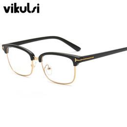 китайские игровые компьютеры Скидка Wholesale- 2017 Fashion Eye Glasses Frames  Designer Women Men Clear Glasses Optical Eyewear Frames Oculos Vintage Retro Spectacles