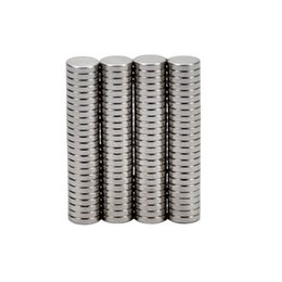 Wholesale Neodymium 5mm - 100pcs Round Diameter 5mm x 1mm Strong Magnetic Rare Earth Neodymium Magnets 5*1mm Teaching Magnets For DIY 5mm*1mm